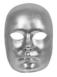 Volto argento Maschile Masque vénitien
