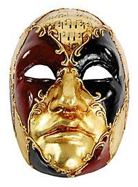 Volto Maschile schacchi colore musica - Venetian Mask