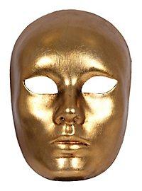 Volto oro Femminile Venezianische Maske