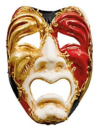 Volto piangi colore - Venetian Mask