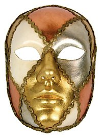 Volto scacci tre foglie - masque vénitien