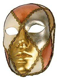 Volto scacci tre foglie - Venezianische Maske
