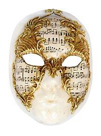 Volto stucco musica - masque vénitien