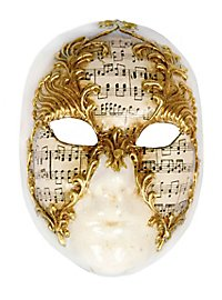 Volto stucco musica - Venetian Mask