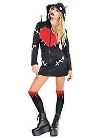 Voodoo doll hoodie dress