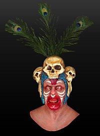 Voodoopriester Maske aus Latex