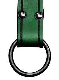 Waffengurt mit Ring grün