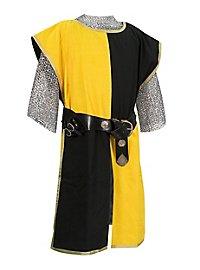 Wappenrock - schwarz/gelb