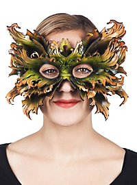 Waldelf leather mask