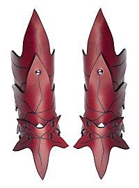 Armschienen - Waldelfe rot