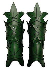 Waldelfe Beinschienen grün