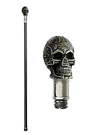Walking Stick Steampunk Skull
