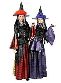 Walpurgishexe violett Kostüm