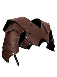 Warlord Shoulder Guards black