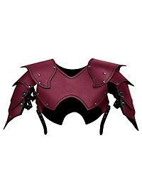Warlord Shoulder Guards red