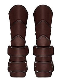 Warlord Vambraces Articulated brown