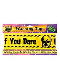 Warning Tape Halloween Decoration