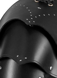 Warrior Leather Shoulder Guards