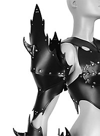 Warrior Witch Deluxe Leather Armor black
