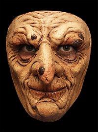 Warzenhexe Maske des Grauens