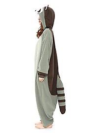 Waschbär Kigurumi Kostüm