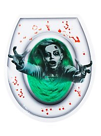 WC Zombie Toilettenaufkleber