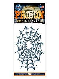 Web Temporary Prison Tattoo