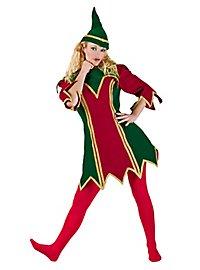 Weihnachtselfe klassisch Kostüm