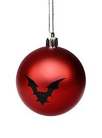 Weihnachtskugel Fledermaus