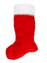 Weihnachtssocke rot-weiß