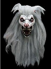 Weißer Werwolf Maske