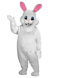 Weißes Kaninchen Maskottchen