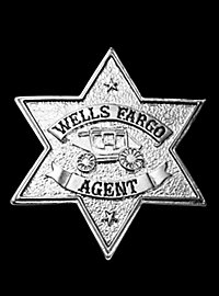Wells Fargo Agent Badge