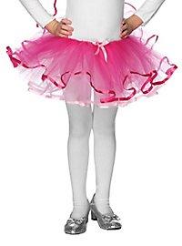Wende-Tutu für Kinder rosa-pink