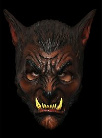 Werewolf brown Horror Mask