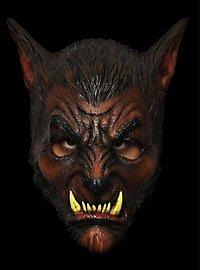 Werwolf braun Maske des Grauens