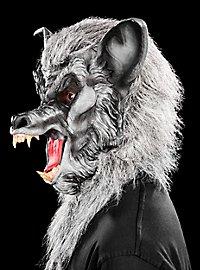 Werwolf grau Maske