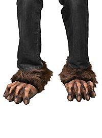 Werwolf Pfoten braun