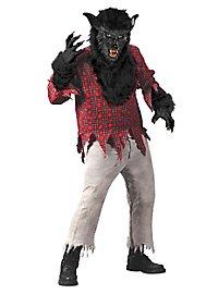 Werwolf schwarz Kostüm