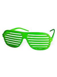 Atzenbrille grün