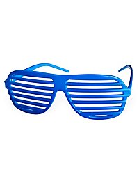 Atzenbrille hellblau