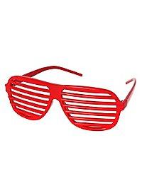 Atzenbrille rot