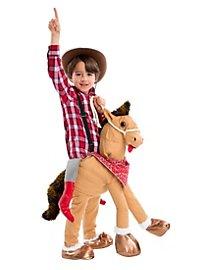 Western-Pferd Reiterkostüm für Kinder