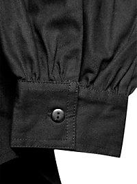 Western Schnürhemd schwarz