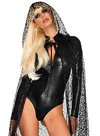 Wetlook Bodysuit black