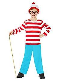Where's Waldo? Kids Costume