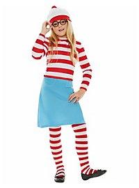 Where's Waldo? Wenda Kids Costume