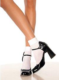 White Ankle Socks