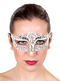 White lace mask Colombina