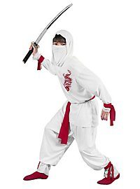 White Ninja Kids Costume